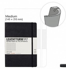 LEUCHTTURM LEUCHTTURM1917 SOFTCOVER NOTEBOOK MEDIUM (A5)