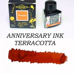 Diamine Diamine Anniversary Terracotta - 40ml Bottled Ink