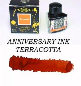 DIAMINE DIAMINE TERRACOTTA - 40ML ANNIVERSARY BOTTLED INK