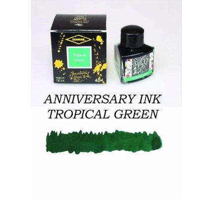 DIAMINE DIAMINE TROPICAL GREEN - 40ML ANNIVERSARY BOTTLED INK