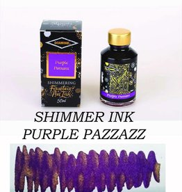 DIAMINE DIAMINE BOTTLED SHIMMERING INK 50 ML PURPLE PAZZAZZ