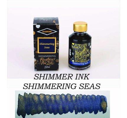 Diamine Diamine Shimmering Shimmering Seas (Gold) - 50ml Bottled Ink