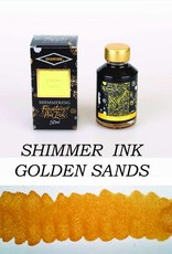DIAMINE DIAMINE SHIMMERING INK 50 ML GOLDEN SANDS