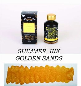 DIAMINE DIAMINE BOTTLED SHIMMERING INK 50 ML GOLDEN SANDS