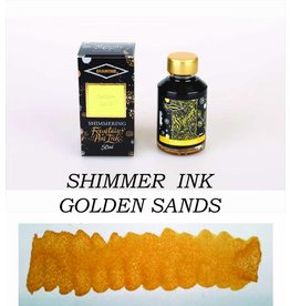 DIAMINE DIAMINE GOLDEN SANDS - 50ML SHIMMERING BOTTLED INK