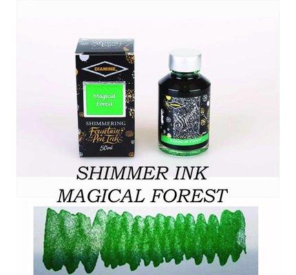 Diamine Diamine Shimmering Magical Forest (Silver) - 50ml Bottled Ink