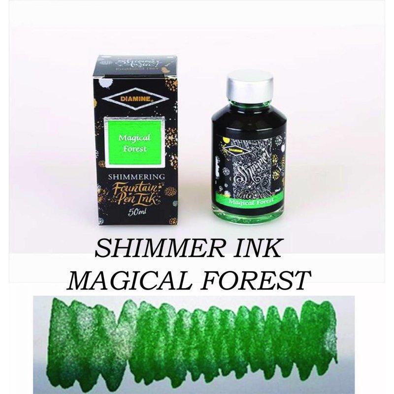 DIAMINE DIAMINE MAGICAL FOREST - 50ML SHIMMERING BOTTLED INK