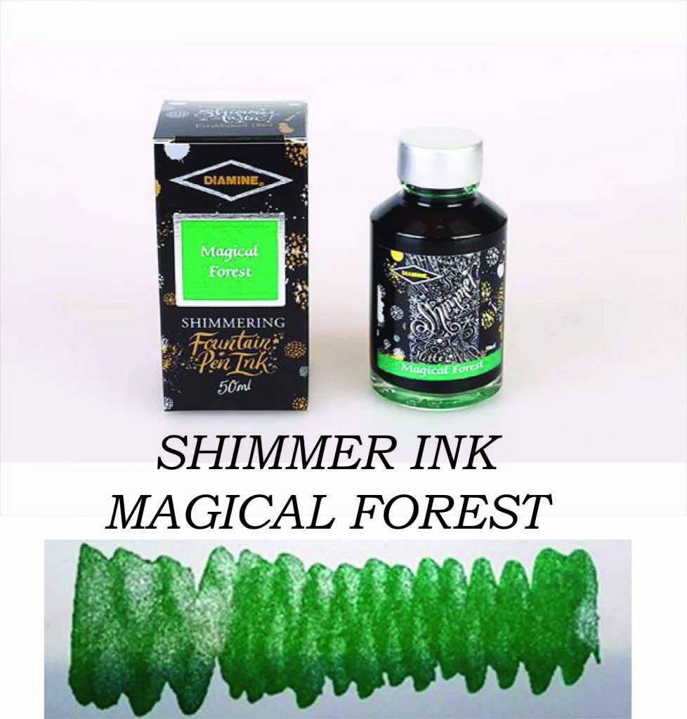 DIAMINE DIAMINE BOTTLED SHIMMERING INK 50 ML MAGICAL FOREST