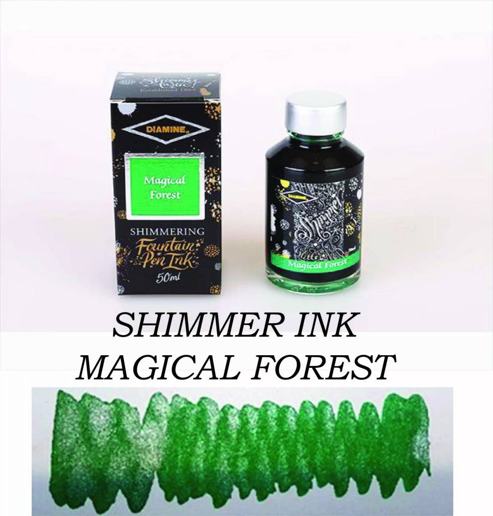 DIAMINE DIAMINE SHIMMERING INK 50 ML MAGICAL FOREST
