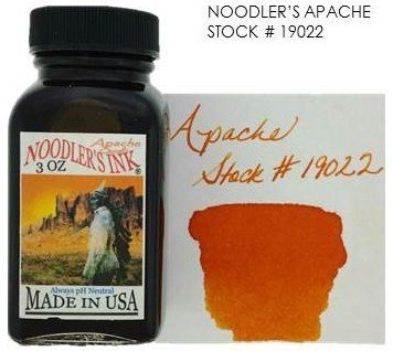 NOODLER'S NOODLER'S BOTTLED INK 3 OZ APACHE