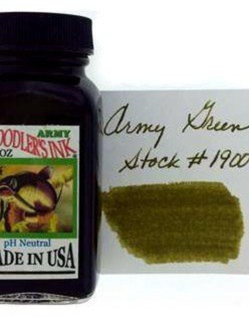 NOODLER'S NOODLER'S BOTTLED INK 3 OZ ARMY GREEN