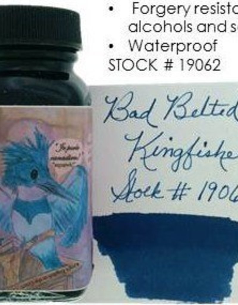 NOODLER'S NOODLER'S BOTTLED INK 3 OZ BAD BELTED KINGFISHER