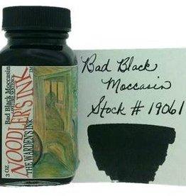 NOODLER'S NOODLER'S BAD BLACK MOCCASIN - 3OZ BOTTLED INK