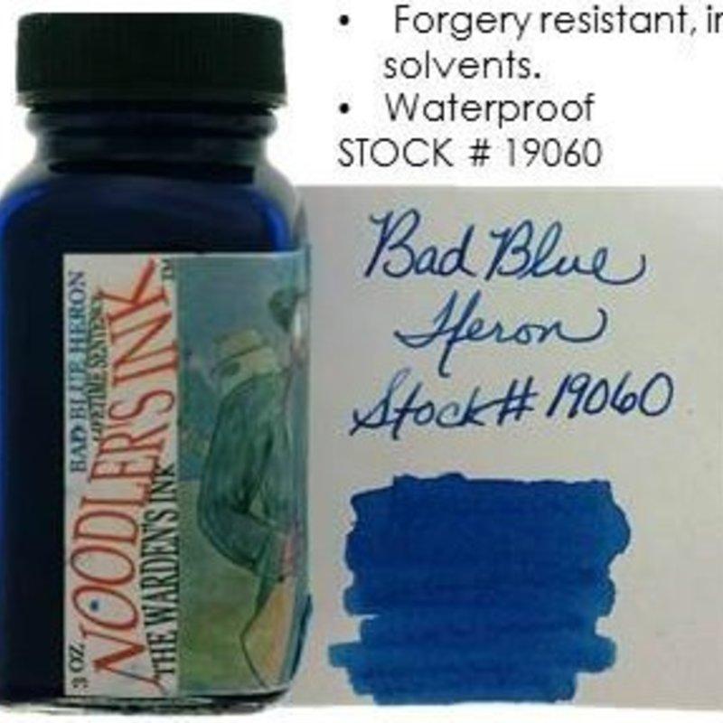 Noodler's NOODLER'S BAD BLUE HERON - 3OZ BOTTLED INK