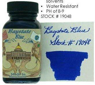 NOODLER'S NOODLER'S BOTTLED INK 3 OZ BAYSTATE BLUE