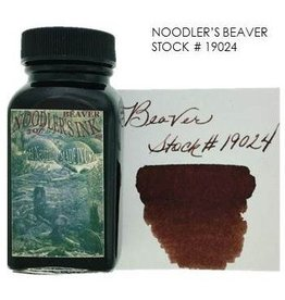 NOODLER'S NOODLER'S BEAVER - 3OZ BOTTLED INK