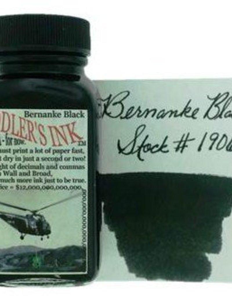 NOODLER'S NOODLER'S BOTTLED INK 3 OZ BERNANKE BLACK
