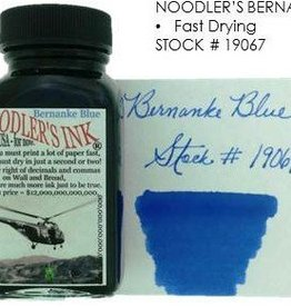 NOODLER'S NOODLER'S BERNANKE BLUE - 3OZ BOTTLED INK