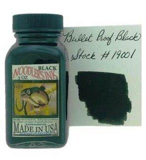 NOODLER'S NOODLER'S BOTTLED INK 3 OZ BULLET PROOF BLACK