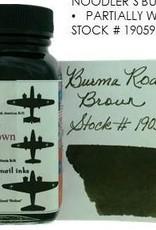 NOODLER'S NOODLER'S BURMA ROAD BROWN - 3OZ BOTTLED INK