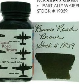 NOODLER'S NOODLER'S BOTTLED INK 3 OZ BURMA ROAD BROWN
