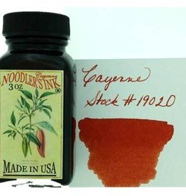 NOODLER'S NOODLER'S CAYENNE - 3OZ BOTTLED INK