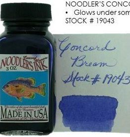NOODLER'S NOODLER'S BOTTLED INK 3 OZ CONCORD BREAM
