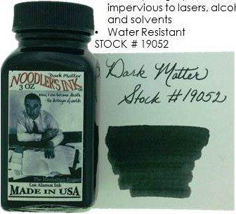 NOODLER'S NOODLER'S BOTTLED INK 3 OZ DARK MATTER