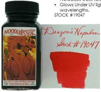 NOODLER'S NOODLER'S BOTTLED INK 3 OZ DRAGON'S NAPALM