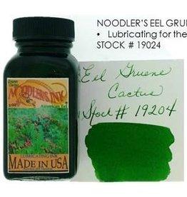 NOODLER'S NOODLER'S AMERICAN EEL GRUENE CACTUS - 3OZ BOTTLED INK