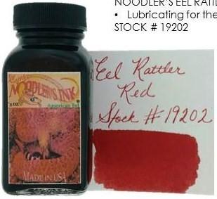 NOODLER'S NOODLER'S BOTTLED INK 3 OZ EEL RATTLER RED