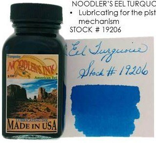 NOODLER'S NOODLER'S BOTTLED INK 3 OZ EEL TURQUOISE