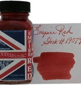 NOODLER'S NOODLER'S EMPIRE RED - 3OZ BOTTLED INK