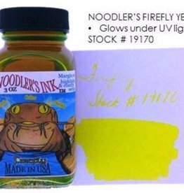 NOODLER'S NOODLER'S BOTTLED INK 3 OZ FIREFLY YELLOW