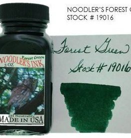 NOODLER'S NOODLER'S BOTTLED INK 3 OZ FOREST GREEN