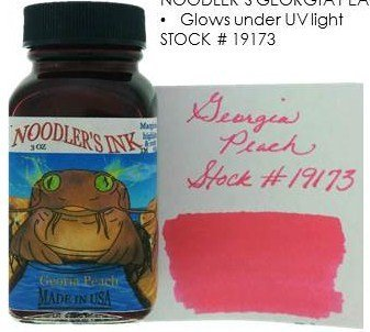 NOODLER'S NOODLER'S BOTTLED INK 3 OZ GEORGIA PEACH