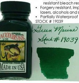 NOODLER'S NOODLER'S BOTTLED INK 3 OZ GREEN MARINE
