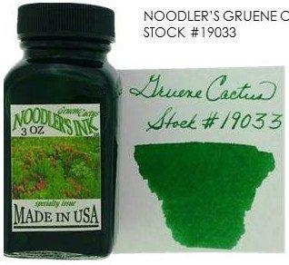 NOODLER'S NOODLER'S BOTTLED INK 3 OZ GRUENE CACTUS