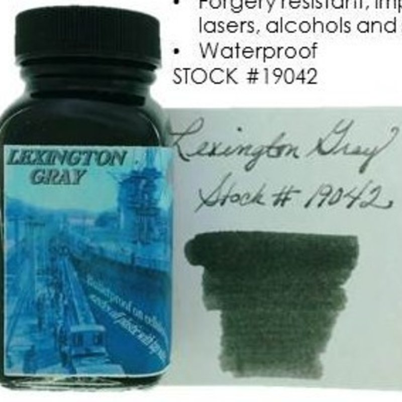 Noodler's NOODLER'S LEXINGTON GRAY - 3OZ BOTTLED INK