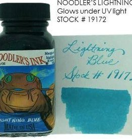 NOODLER'S NOODLER'S BOTTLED INK 3 OZ LIGHTENING BLUE