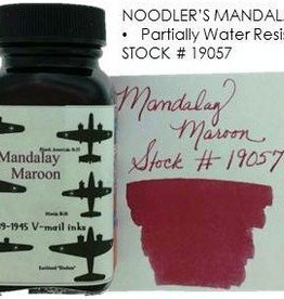 NOODLER'S NOODLER'S MANDALAY MAROON - 3OZ BOTTLED INK