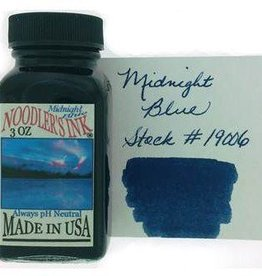 NOODLER'S NOODLER'S BOTTLED INK 3 OZ MIDNIGHT BLUE