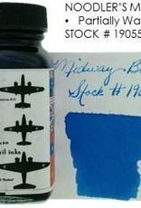 NOODLER'S NOODLER'S BOTTLED INK 3 OZ MIDWAY BLUE
