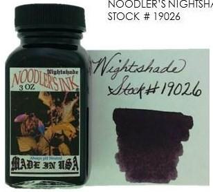 NOODLER'S NOODLER'S BOTTLED INK 3 OZ NIGHTSHADE
