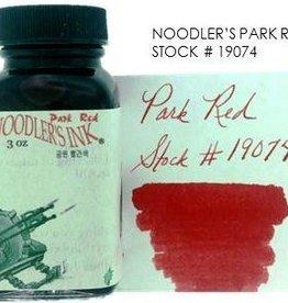 NOODLER'S NOODLER'S BOTTLED INK 3 OZ PARK RED