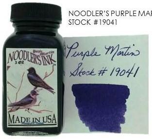 NOODLER'S NOODLER'S BOTTLED INK 3 OZ PURPLE MARTIN