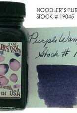 NOODLER'S NOODLER'S BOTTLED INK 3 OZ PURPLE WAMPUM