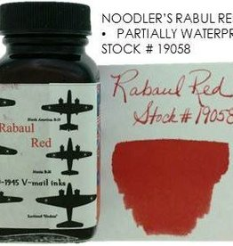 NOODLER'S NOODLER'S BOTTLED INK 3 OZ RABAUL RED