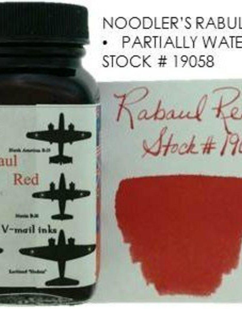 NOODLER'S NOODLER'S BOTTLED INK 3 OZ RABAUL RED