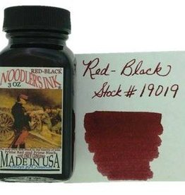 NOODLER'S NOODLER'S BOTTLED INK 3 OZ RED-BLACK